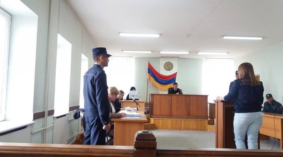 Հեղինե Դարբազյանի գործով դատական նիստ